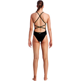 Funkita Strapped In One Piece - Bañador Mujer - negro